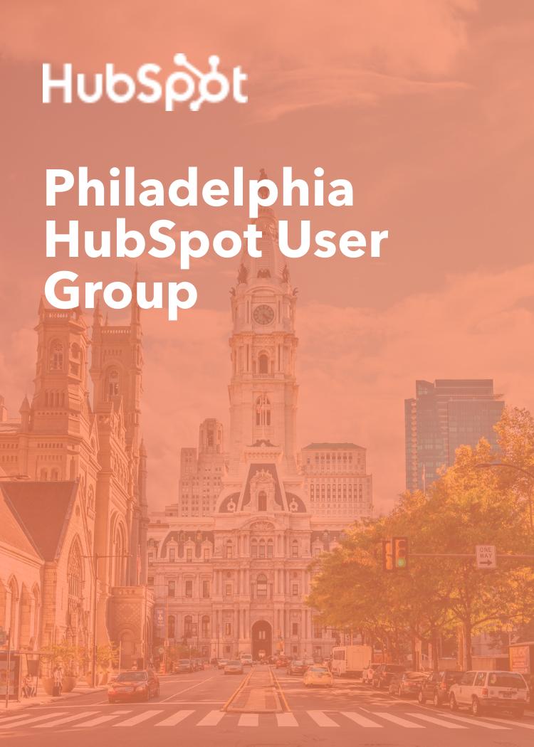 Philadelphia Hubspot User Group