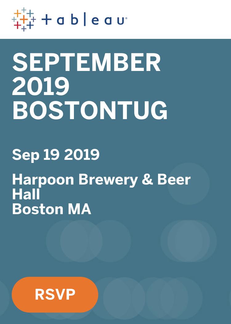 September 2019 BostonTUG