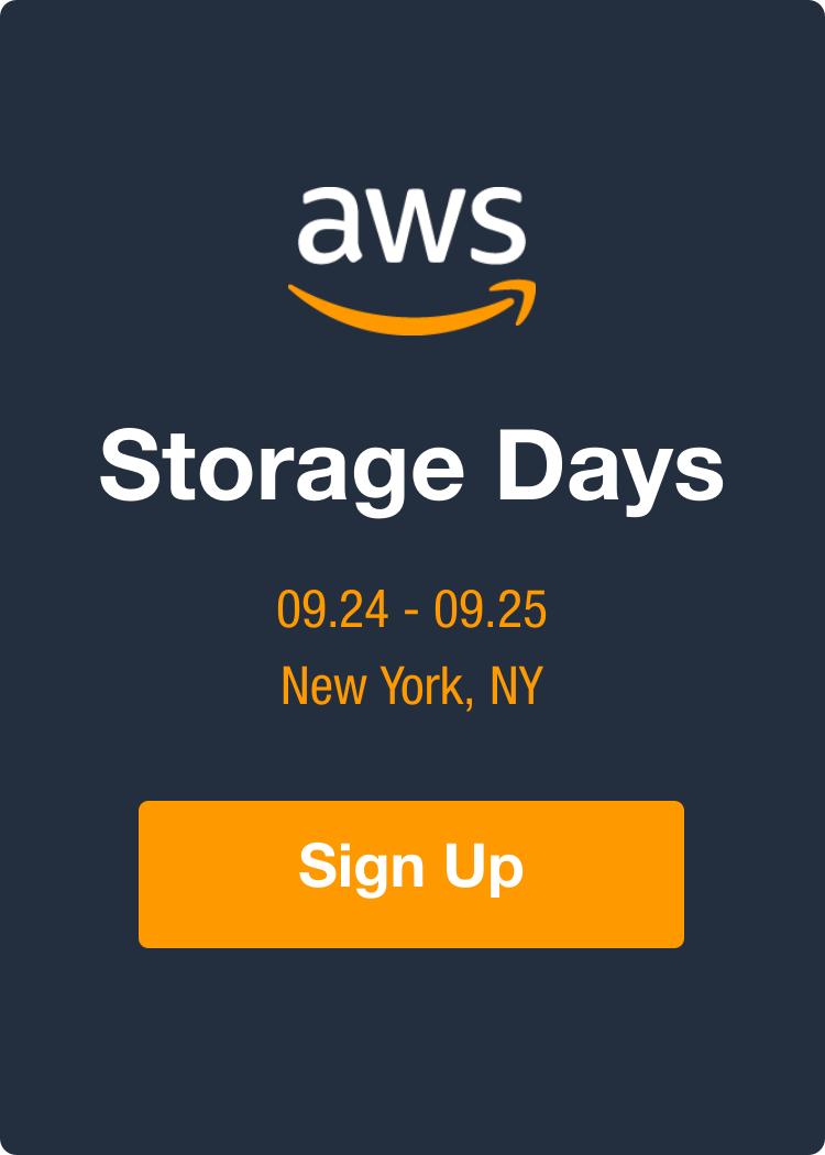 Storage Days