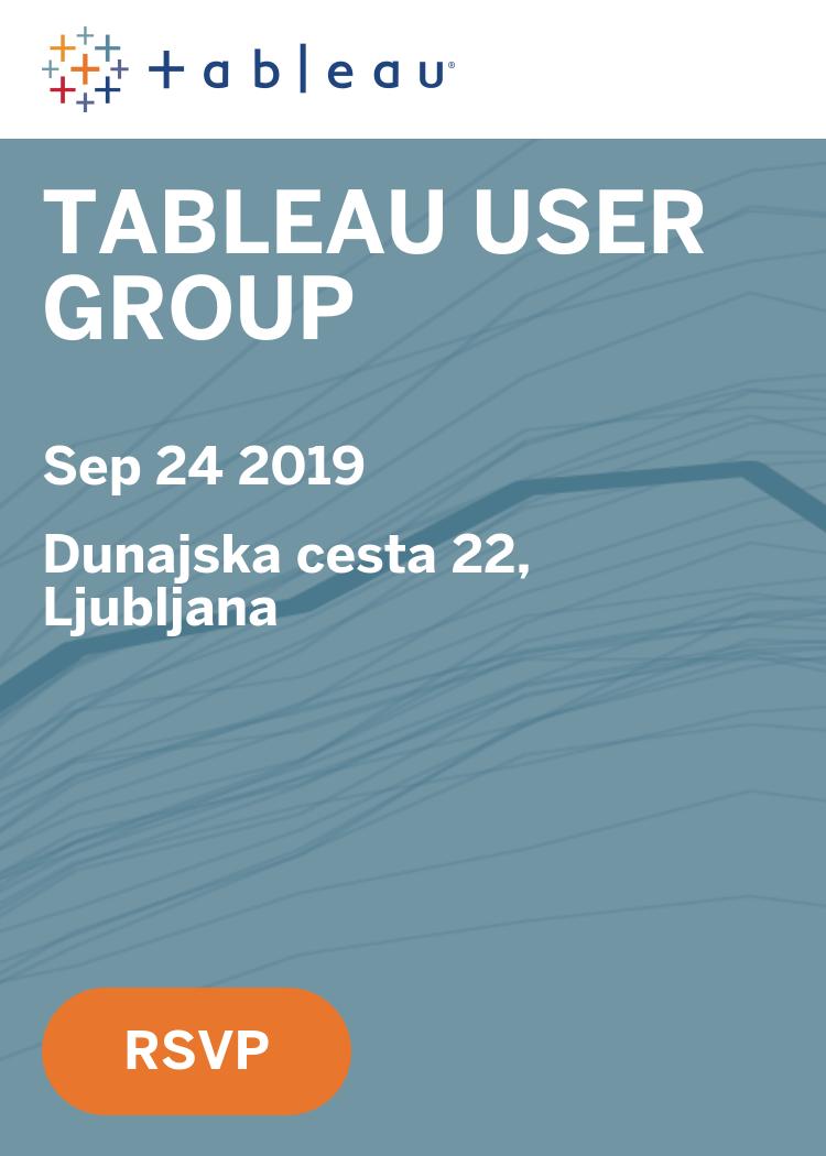Tableau User Group