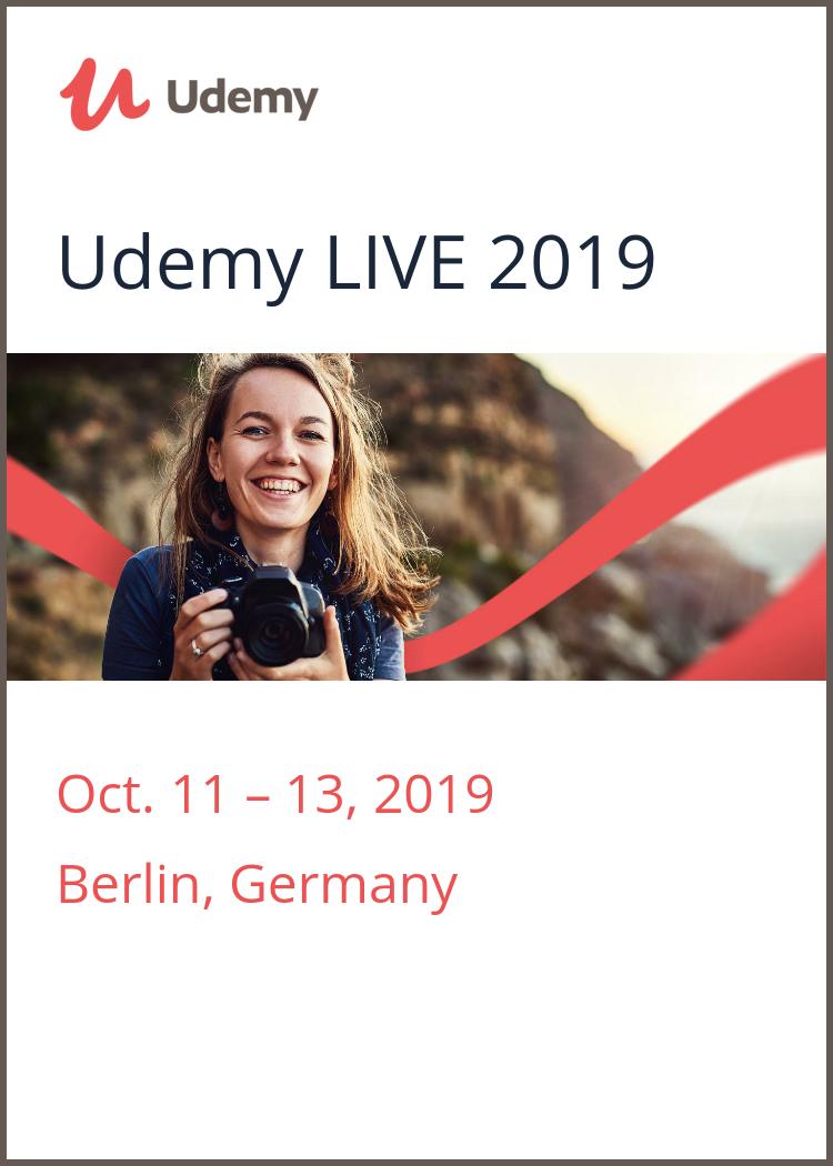 Udemy LIVE 2019