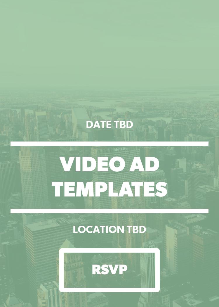 Video Ad Templates Splash - Video ad templates
