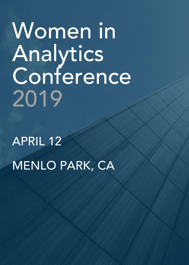 Women In Analytics 2019 Main Page - Splash