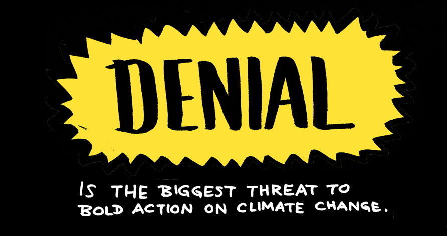 is the biggest threat to bold action on climate change.