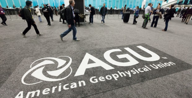 Scientists are rallying at the AGU fall meeting