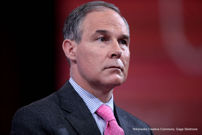 Tell Congress: It's time. Scott Pruitt must resign or be fired.