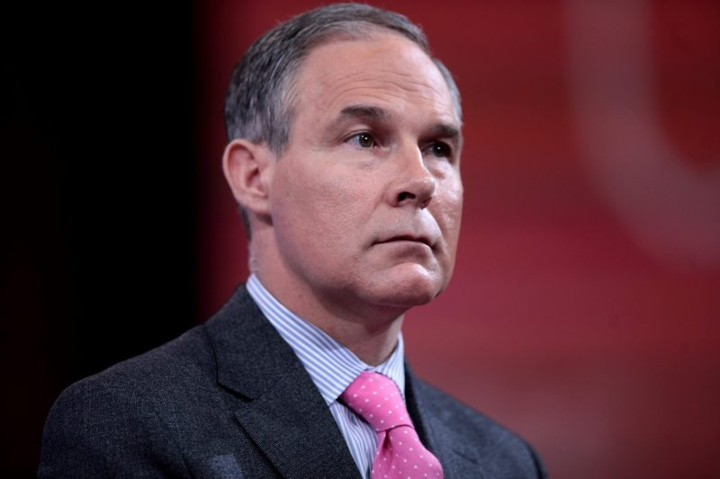 Call Scott Pruitt and tell him to protect Americans from climate change