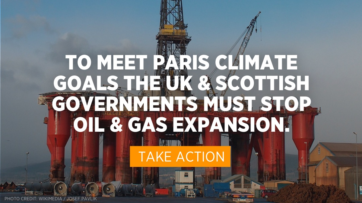 priceofoil.org - Tell the UK Gov: Stop New Oil & Gas Extraction