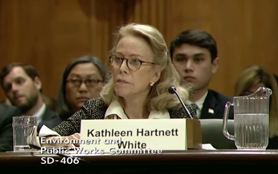 Tell The Senate: Reject Climate Denier Kathleen Hartnett White as head of White House CEQ
