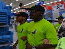 Walmart workers
