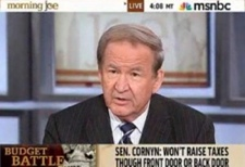 Call MSNBC and tell them to fire Pat Buchanan