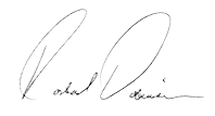Graphic image: Rashad Robinson signature