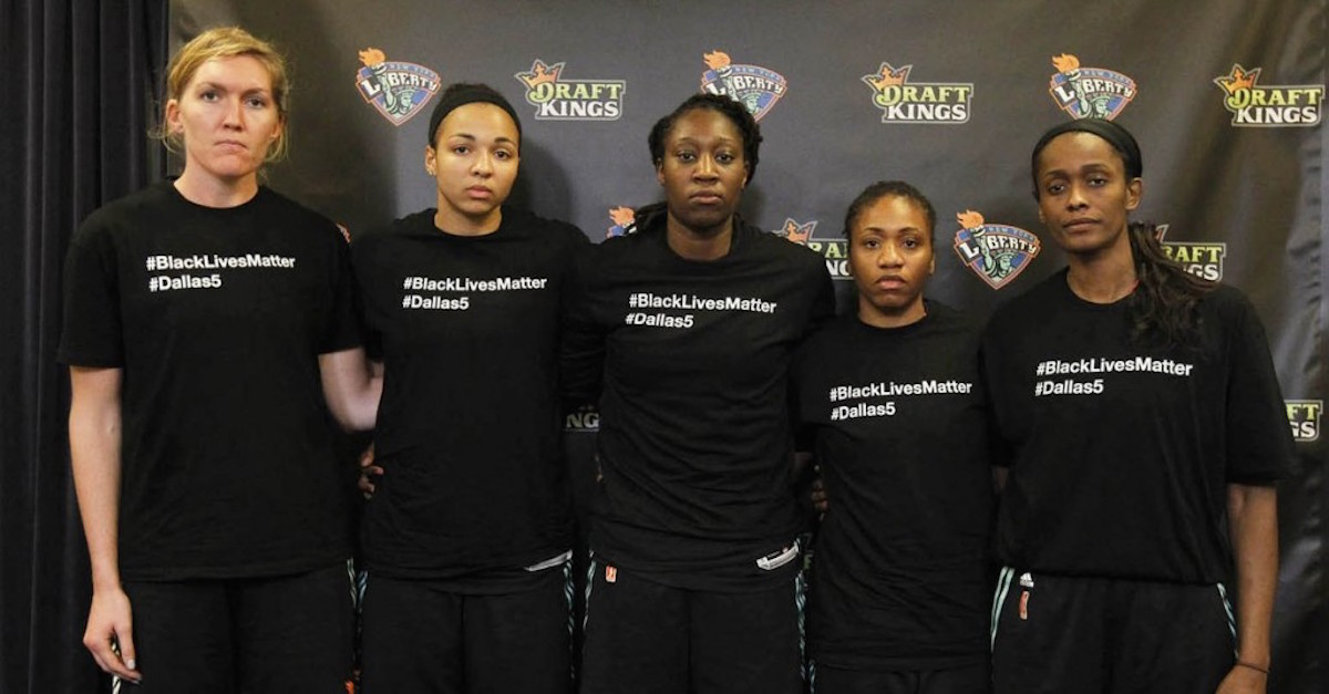 WNBA's attacks on players for speaking out is unacceptable ...