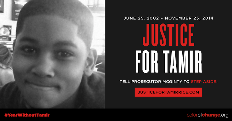 Justice for Tamir Rice