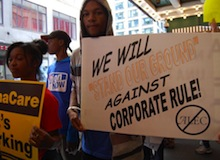 ALEC protest in Chicago