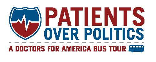 Patients Over Politics Logo