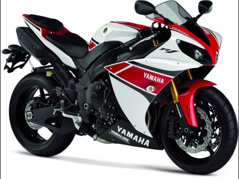 Yamaha R1 Red 2014 Yamaha R1 2014 White R...