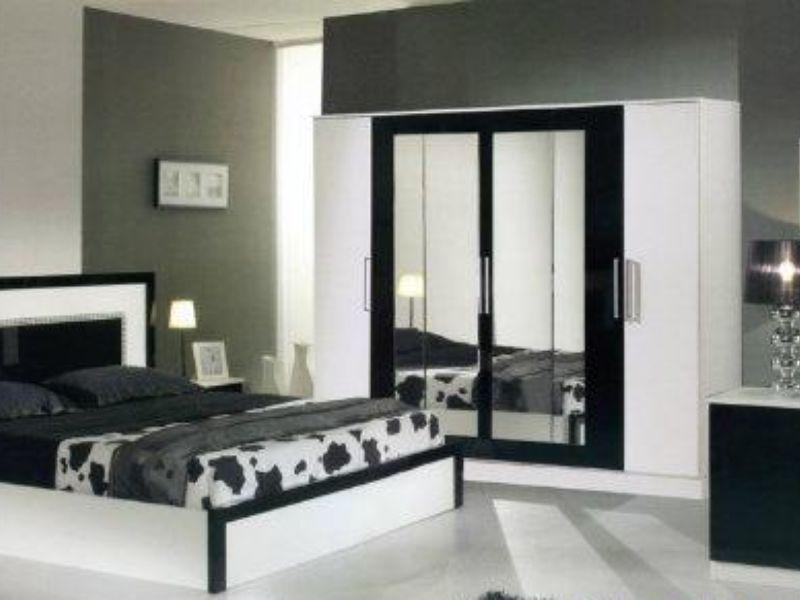 Chambre A Coucher Moderne Noir Et Blanc. Free Chambre A Coucher ...