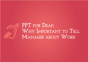 Why important to tell manager about work?