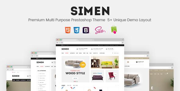 SNS Simen - Responsive Prestashop Theme | PrestaShop