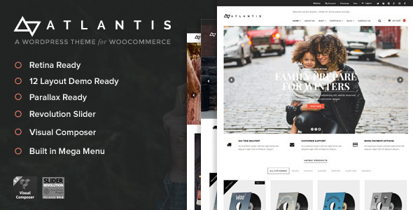 Atlantis - Multi Layout e-Commerce WordPress Theme | WooCommerce