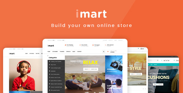 iMart – Multipurpose Prestashop Theme | Fashion