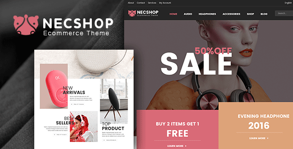Nec Shop – Responsive Multipurpose WooCommerce Theme | WooCommerce