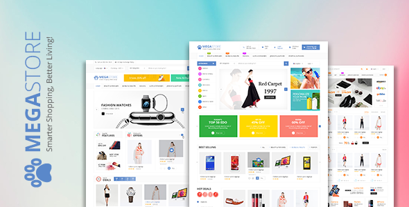 Mega Store – WooCommerce WordPress Theme | WooCommerce