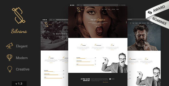 Silvana - Creative Agency WordPress Theme
