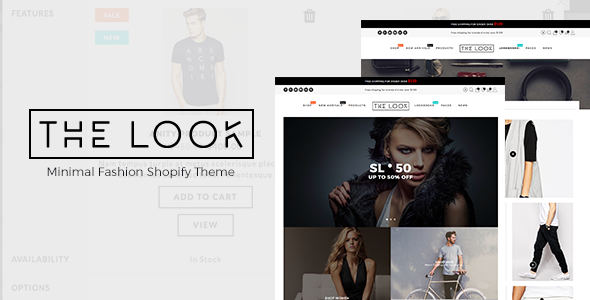 Minimal Fashion Shopify Theme – The Look | Fashion
