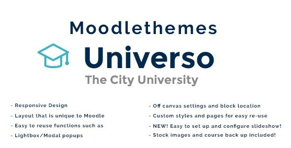 Universo – Responsive Moodle Theme | Business