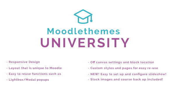 University - Responsive Moodle Theme | Business