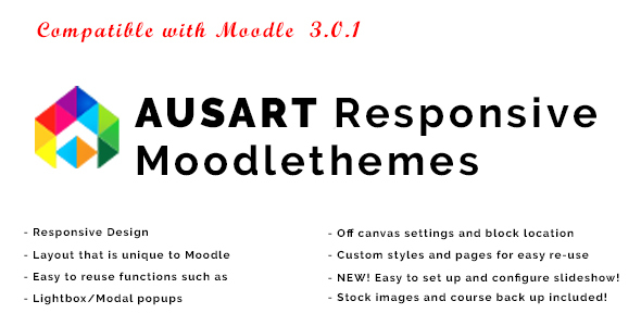 Ausart – Responsive Moodle Theme | Corporate
