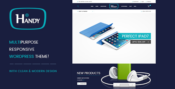 Handy Shop WooComerce WordPress Theme | WooCommerce