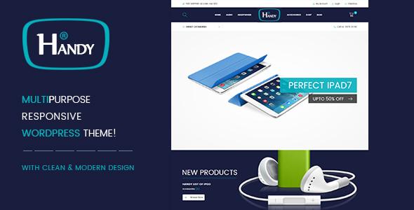 Handy Shop WooComerce WordPress Theme | WooCommerce
