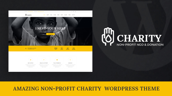 Charity – Nonprofit WordPress Theme | Charity