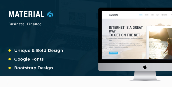 Material – Multipurpose Drupal 8 Theme | Corporate