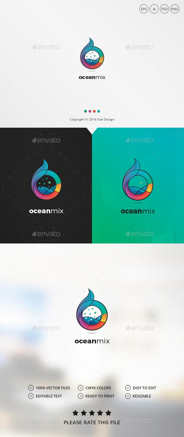 Ocean – Letter O Logo | Letters