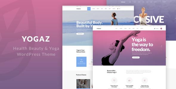 Yogaz - Healthy Beauty & Yoga WordPress Theme