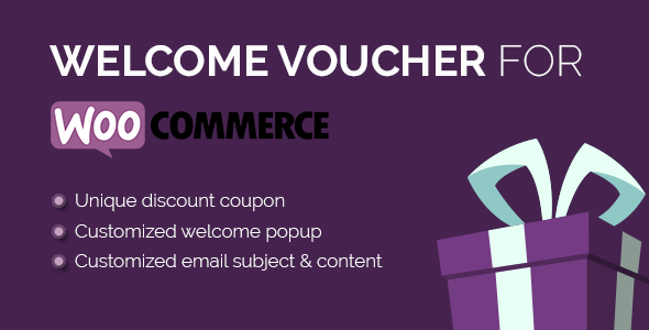 Welcome Voucher for WooCommerce   Marketing