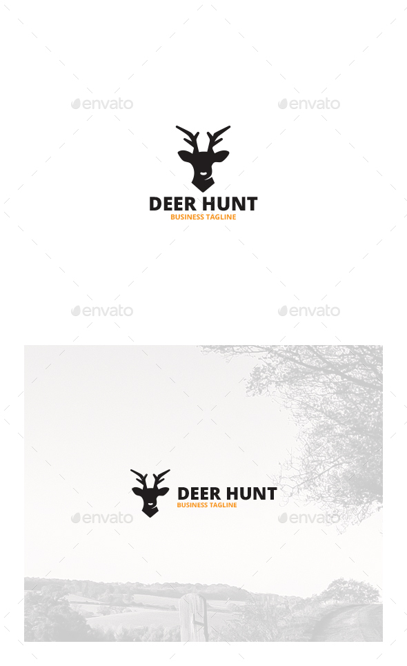 Deer Hunt Logo | Symbols
