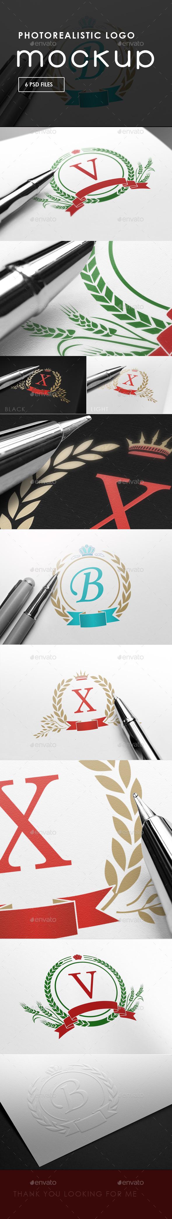 Photorealistic Logo Mock-Ups | Logo