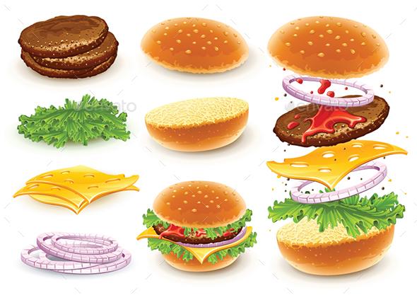 Fast Food – Hamburger   Food