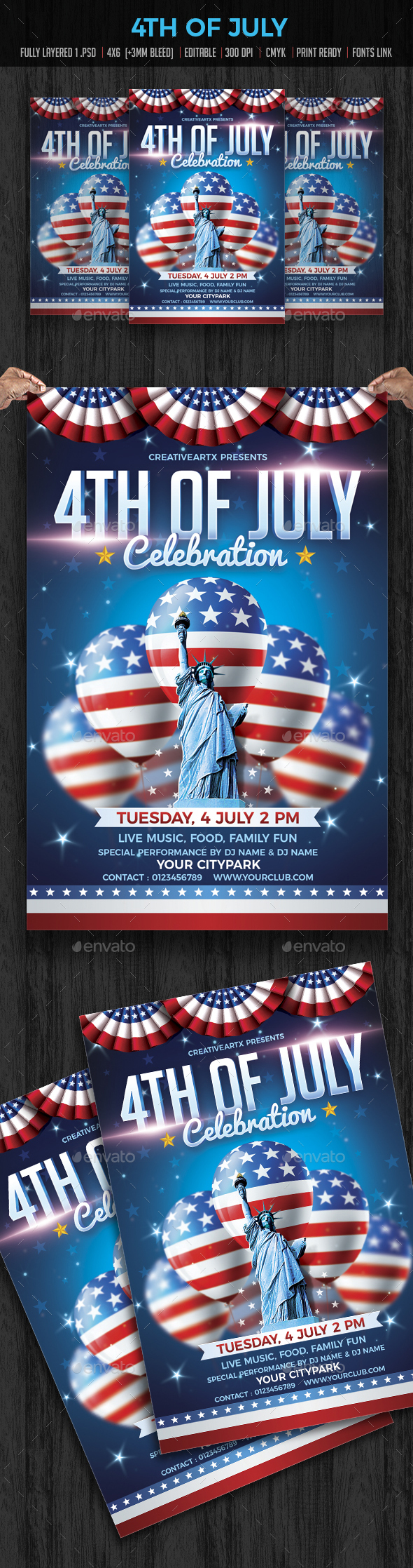 4th of July Flyer | Events