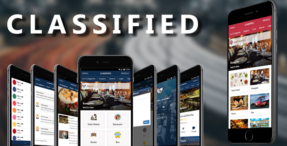 Classified mobile and tablet responsive bootstrap template (for classified listing) | Mobile