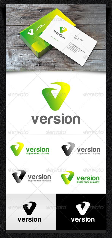 Version Logo | Vector