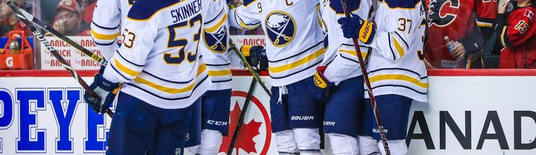 Sabres' Eichel came through when it meant the most