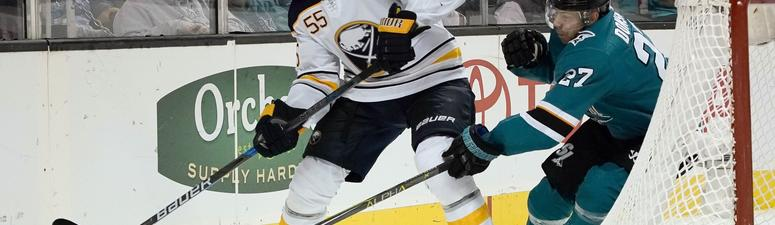 The Sabres head to San Jose even on their current trip