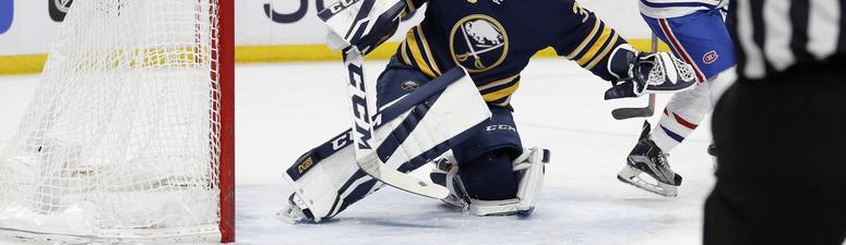 The Sabres will go with Linus Ullmark against Los Angeles