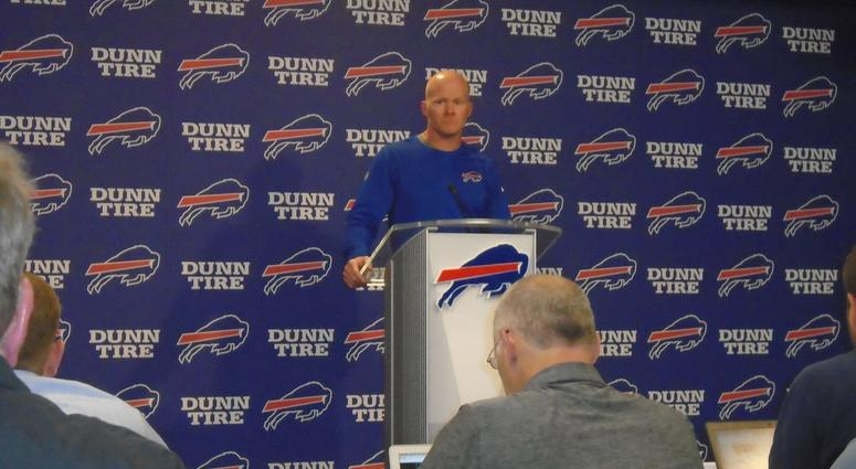 Bills' McDermott wants to find out more about the NFL's new National Anthem policy